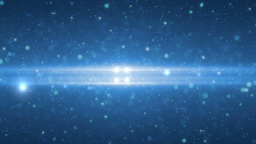 Abstract space blue animation background lens flare Animation