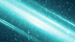 Abstract blue animation effects, background lens flare Animation