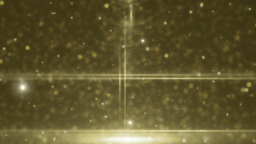 Abstract golden animation background lens flare Animation