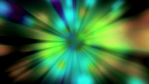 Blinking Colorod Rays Of Lights Dark stock footage