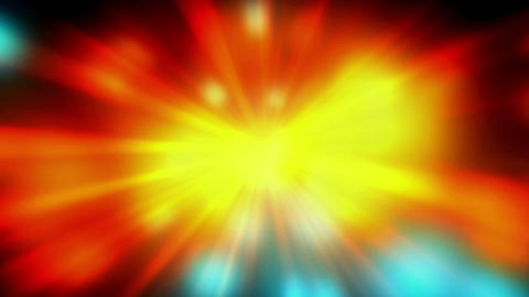 Blinking Colorod Rays Of Lights From Center, Stock Animation