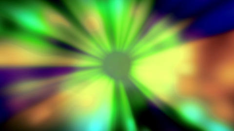 Blinking Colorod Rays Of Lights Animation