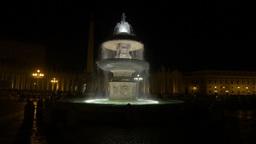 Fontana Di Fiumi, Rome, Vatican, Italy stock footage