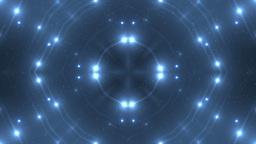 Fractal blue kaleidoscopic background Animation