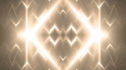 Fractal gold kaleidoscopic background Animation