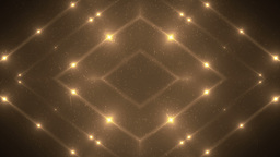 Fractal orange kaleidoscopic background Animation