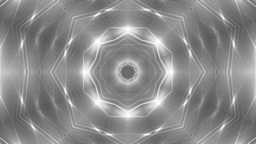 Fractal silver kaleidoscopic background Animation