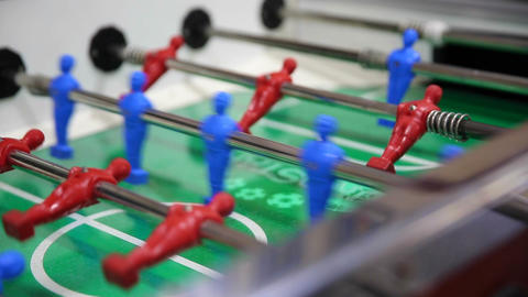 table football, soccer table game Live Action