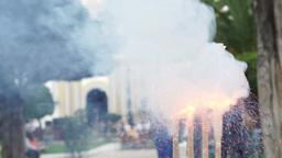 Firecracker Man Lighting Handheld Live Action