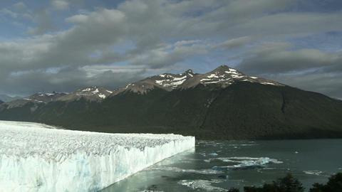 Perito moreno glacier in southern argentina Stock Video Footage