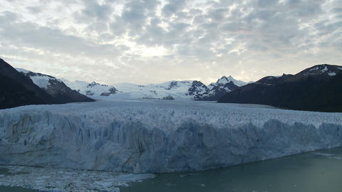 Perito moreno glacier in southern argentina Stock Video Footage