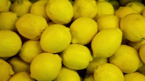 Citrus fruits in supermarket Stock Video Footage