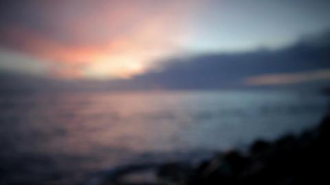Seascape, Tarifa, Spain Stock Video Footage