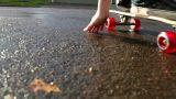 Boy skateboarding Footage