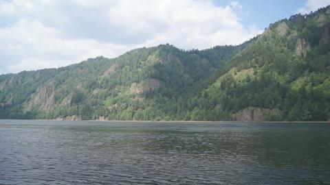 Siberian River Yenisei Landscapes 1
