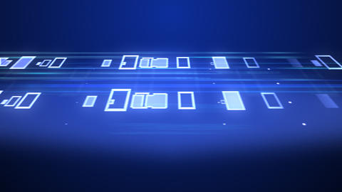 Data Stream ST5 B3 HD Stock Video Footage