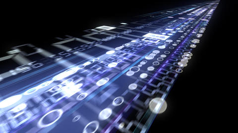 Data Stream ST5 F1 HD Stock Video Footage