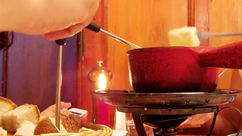 Swiss Fondue Dining Live Action