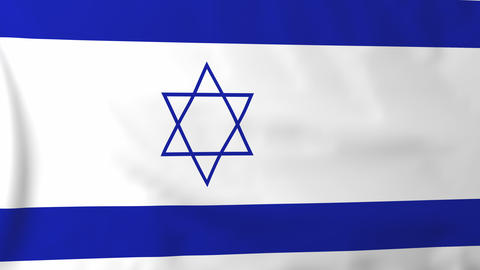 Flag of Israel Animation