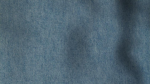 Jeans Seamless Looped Background Texture Stock Video Footage