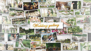 Wedding Wall Gallery – Apple Motion and Final Cut Pro X Template Apple Motion-Vorlage