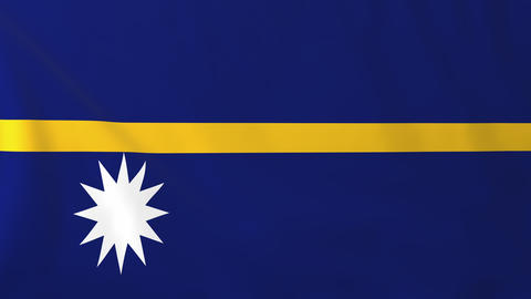 Flag of Nauru Animation