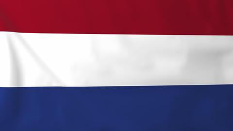 Flag of Netherlands Animation