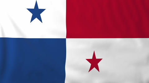 Flag of Panama Animation