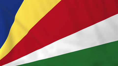 Flag of Seychelles Animation