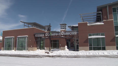 Kiowa County Commons Snow Footage