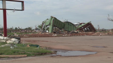 Moore , OK Damage Pan Right Live Action