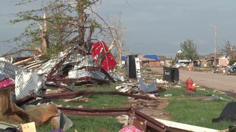 Tornado Damage Moore Live Action