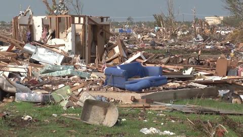 Tornado Damage OK Live Action