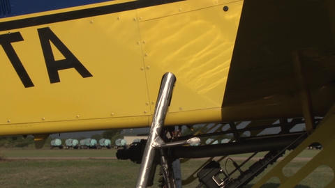 Parked Plane Sprayer Live Action