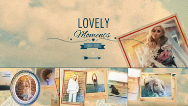 Lovely Moments After Effects Project