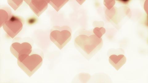 Hearts Flying 4K Background Animation