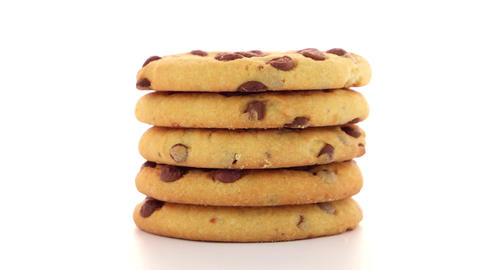 Stack of cookies Footage