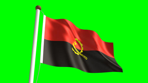Angolan flag Animation