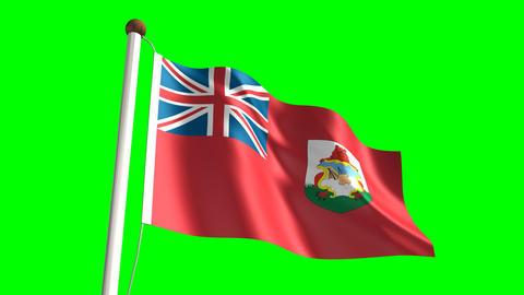 Bermudian flag Animation