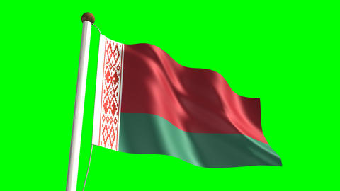 Belarussian flag Animation
