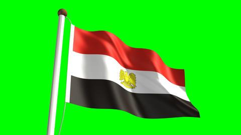 Egyptian flag Animation