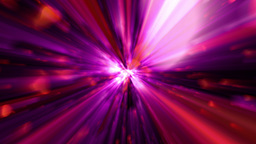 Purple Red Tunnel Of Lights 4K Animation