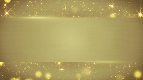 gold blank banner seamless loop background 4k (4096x2304) Animation