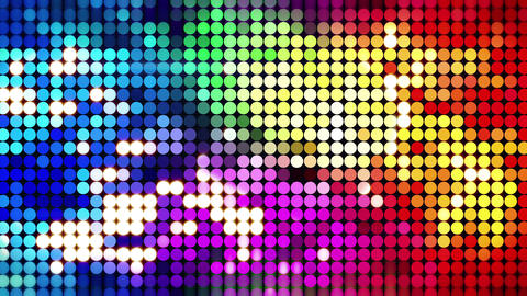 colorful sparkling disco wall loopable 4k (4096x2304) Animation