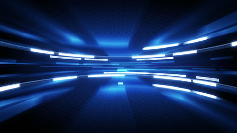 shining blue glow loopable technology background 4k (4096x2304) Animation