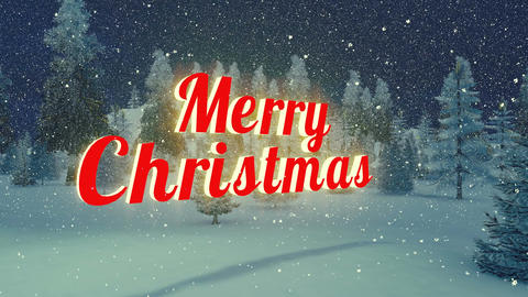Merry Christmas animation Loopable Animation