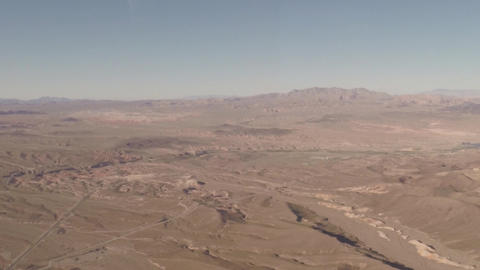 Aerial View Flying Over The Grand Canyon stock footage