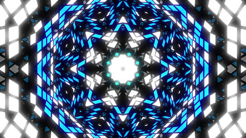 VJ Loop Color Kaleidoscope 3 Animation