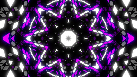 VJ Loop Color Kaleidoscope 5 Animation