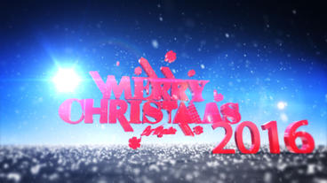 Christmas Logo ( Style 2) After Effects Template